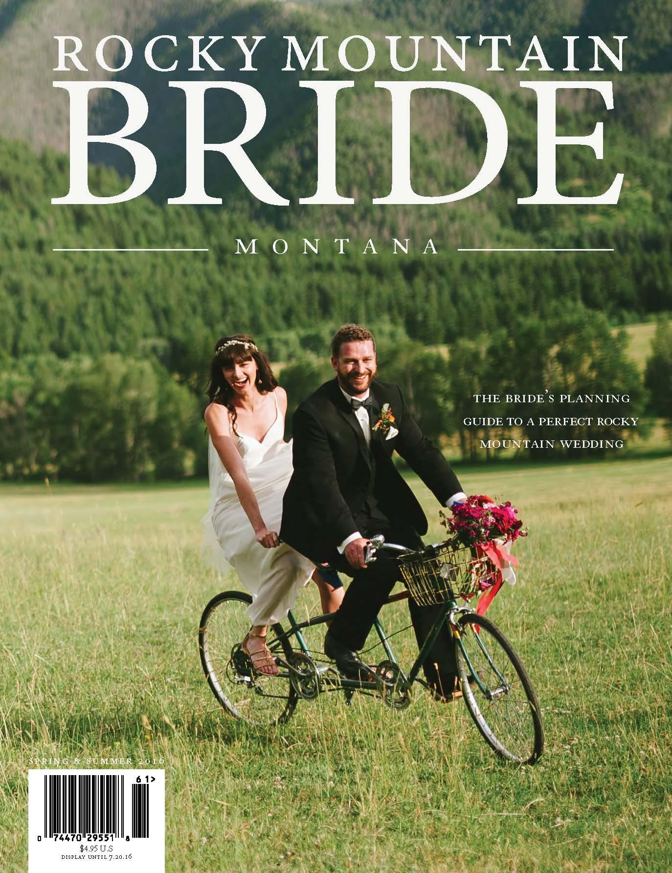 Rocky Mountain Bride Spring & Summer - Baxter Hotel Ranch Wedding Feature