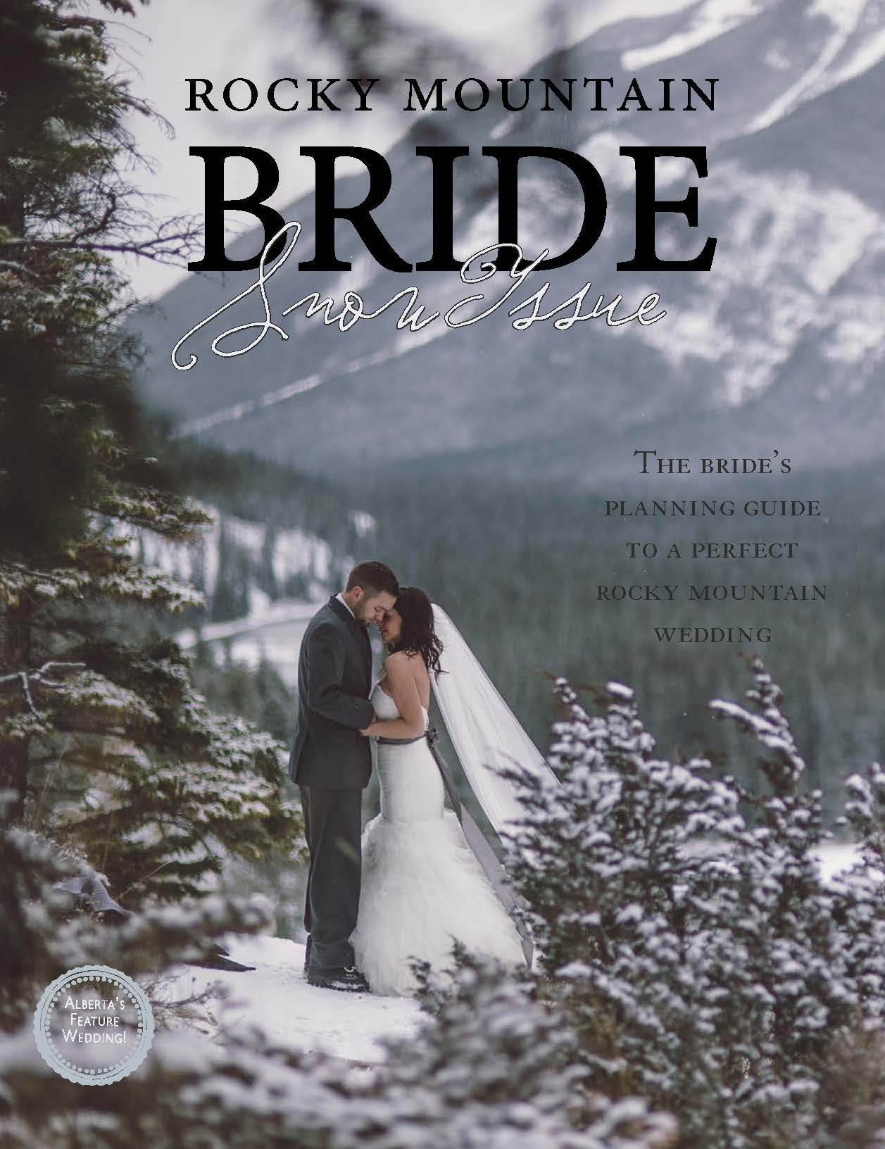 Rocky Mountain Bride Winter Snow Issue