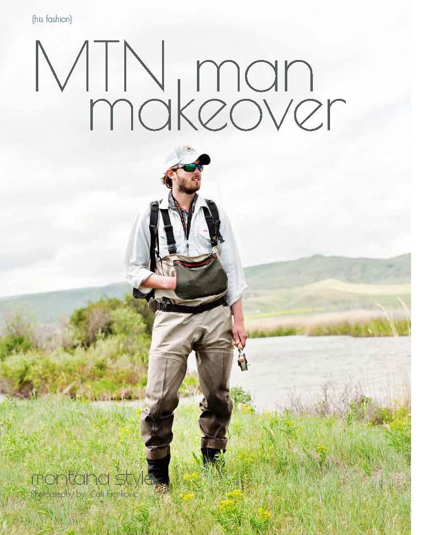 Rocky Mountain Bride: Montana Man Makeover | The Baxter